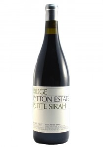 Ridge Vineyards 2016 Petite Sirah