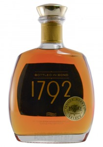 1792 D&M Bottled in Bond Kentucky Straight Bourbon Whiskey
