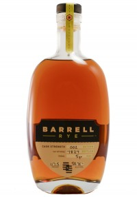 Barrell Bourbon 5 YR Rye Whiskey