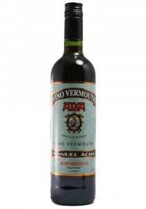 Atxa Manuel Acha Tinto Vermouth