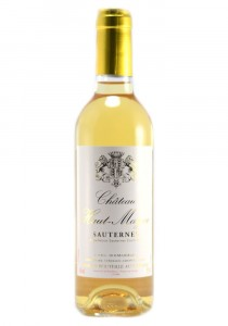 Chateau Haut Mayne Half Bottle 2015 Sauternes