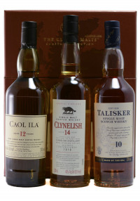 The Classic Malts Coastal Collection Gift Pack