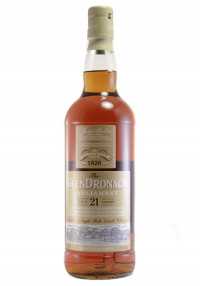 Glendronach 21 YR. Parliament Single Malt Scotch