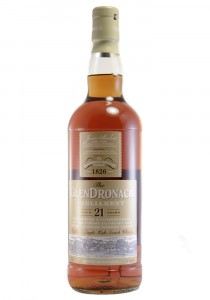 Glendronach 21 YR. Parliament Single Malt Scotch