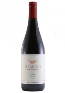 Hermon 2017 Galilee Red Wine-Kosher