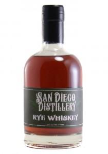 San Diego Distillery Half Bottle Rye Whiskey