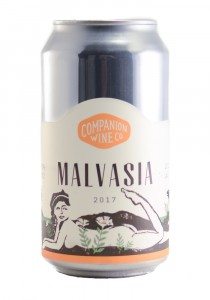 Companion Wine Co. 2017 Malvasia Can