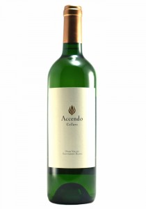 Accendo Cellars 2017 Napa Valley Sauvignon Blanc