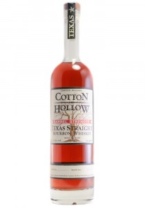 Cotton Hollow Texas Straight Bourbon Whiskey