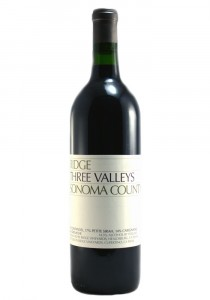 Ridge Vineyards 2017 Three Valleys Red Wine