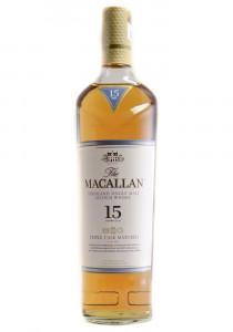 Macallan 15 YR. Triple Cask Single Malt Scotch Whisky