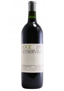 Ridge Vineyards 2017 Geyserville Sonoma County Red Wine