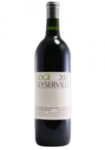 Ridge Vineyards 2017 Geyserville Sonoma County Red Wine