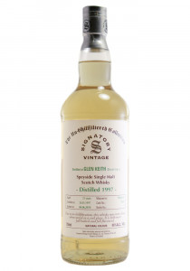 Glen Keith 21 YR Signatory Bottling Single Malt Scotch Whisky