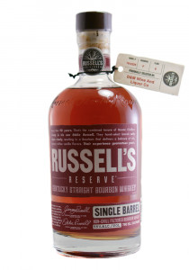 Russell's Reserve Store Pick Single Barrel Kentucky Straight Bourbon