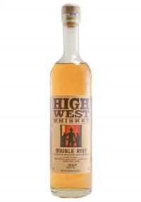 High West Half Bottle Double Rye Straight Whiskey