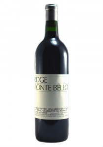 Ridge Vineyards 2016 Monte Bello Red Wine