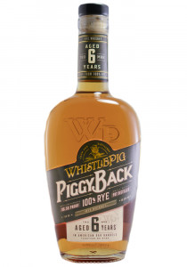 Whistlepig 6 Yr. Piggy Back Rye Whiskey