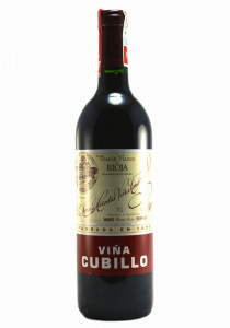 Lopez de Heredia 2010 Vina Cubillo Rioja