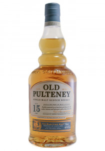 Old Pulteney 15 Yr. Single Malt Scotch Whisky