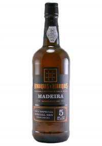 H&H 5 Yr. Special Dry Tinta Negra Madeira