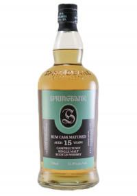 Springbank 15 Yr. Rum Cask Single Malt Scotch Whisky