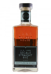 A.D. Laws Secale Straight Rye Whiskey