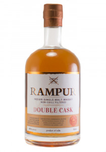 Rampur Double Cask Indian Single Malt Whisky