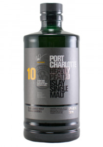 Port Charlotte 10 YR. Islay Single Malt Scotch
