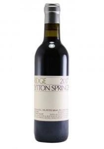 Ridge Vineyards 2017 Half Bottle Lytton Springs Red Wine