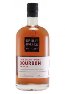 Spirit Works Four Grain Straight Bourbon Whiskey