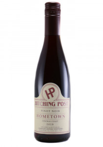 Hartley Ostini 2018 Half Bottle Hitching Post Hometown Pinot Noir