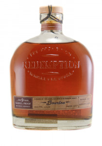 Redemption 9 YR. Barrel Proof Bourbon Whiskey