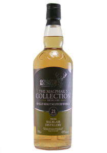 Balblair 21YR. Gordon&MacPhail's Bottling Single Malt Scotch