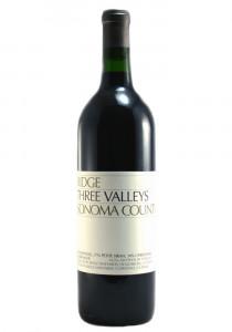 Ridge Vineyards 2018 Three Valleys Red Wine