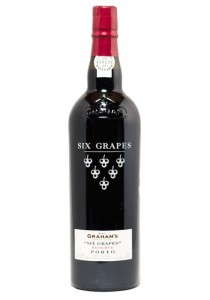 Graham's Six Grapes Half Bottle Port