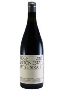 Ridge Vineyards 2018 Lytton Estate Petite Sirah