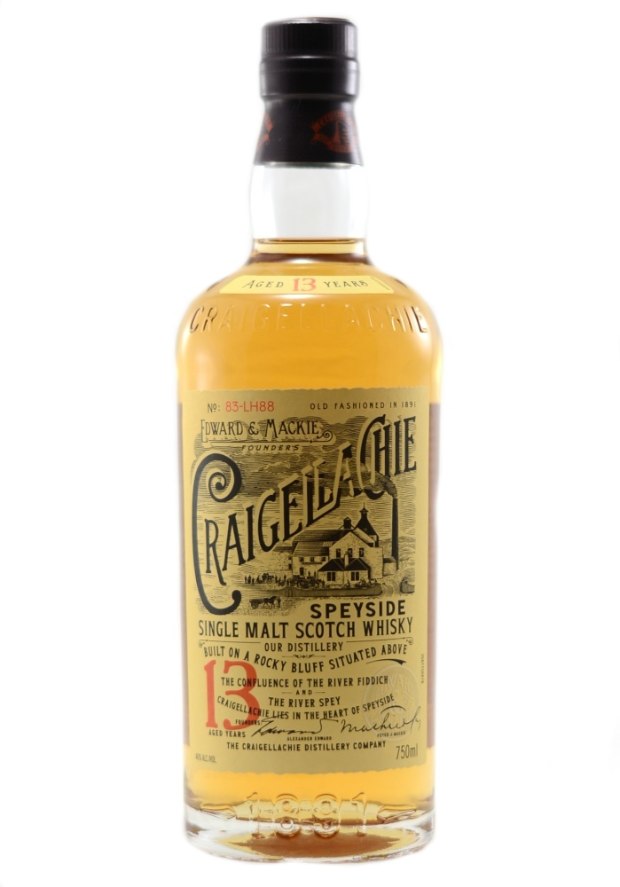 Craigellachie 13 Yr Distillery Bottling Single Malt Scotch Whisky