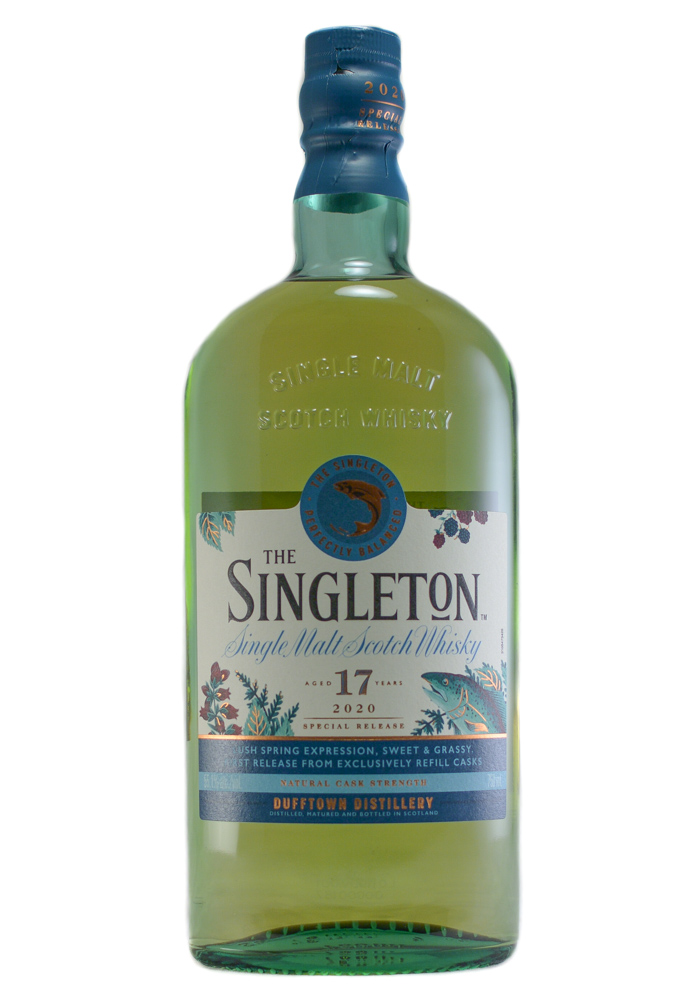 The Singleton 17 Yr. 2020 Release Single Malt Scotch