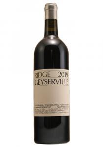 Ridge Vineyards 2019 Geyserville Sonoma County Red Wine