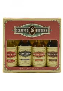Scrappy's Bitters Essentials Flavors Gift Set