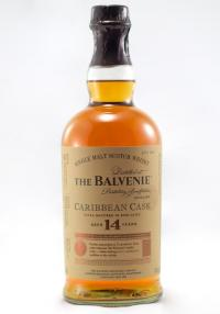 Balvenie 14 YR Caribbean Rum Casks Single Malt Scotch Whisky