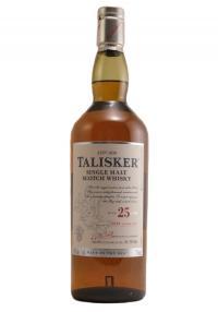 Talisker 25 YR. Single Malt Scotch Whisky