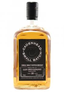 Glen Spey-Glenlivet 18 Yr Cadenhead Single Malt Scotch Whisky