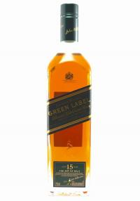 Johnnie Walker 15 YR Green Label Blended Malt Scotch Whisky