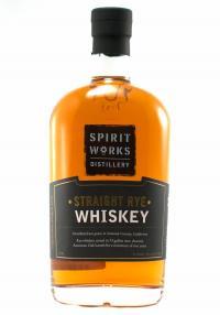 Spirit Works Straight Rye Whiskey