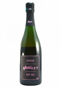 Arteis & Co. 2008 Brut Rose Champagne