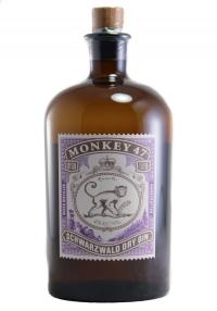 Monkey 47 Schwarzwald Dry Gin 1.0 Liters