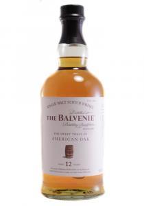 Balvenie 12 YR. American Oak Single Malt Scotch Whisky
