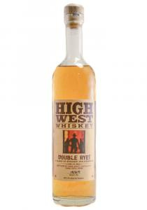 High West Half Bottle Double Rye Straight Whiskey